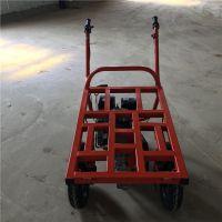 操作简单运输高效汽油两轮车 易途SLUNC 鸭粪进地运输小斗车