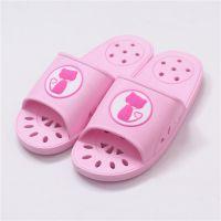 浴室拖鞋女夏季家居情侣居家室内防滑洗澡漏水按摩凉拖鞋男9001-1