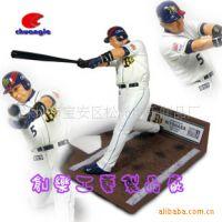 照片定制真人高品质创意韩国棒球员 树脂棒球员公仔