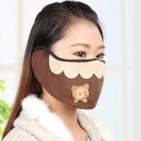 1690韩版时尚加厚保暖弹压式口耳罩 防寒口罩耳套二合一