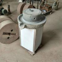 商用油坊新型芝麻酱石磨机厂家 乾宇制造大型米浆电动石磨