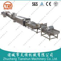 湖南特产香辣毛豆加工成套生产线恒途牌TS-460型自动化
