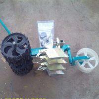 四轮车带油菜播种机 农用空菜心4行精播机