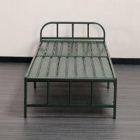简易折叠铁架床单人床家用成人午睡午休床二折多功能行军床折叠床