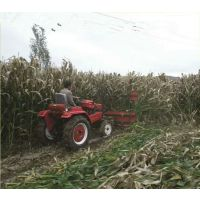 120型号牧草收割机视频 胡麻荞麦割晒机 玉米秸秆作物割晒机