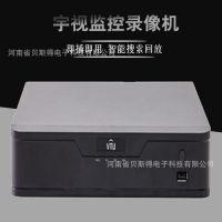 宇视科技NVR301高清4路单盘位网络监控录像机支持手机APP