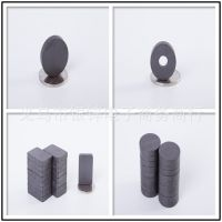 厂家专业生产永磁材料火车玩具配件 印章磁铁可打孔  尺寸可定做