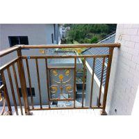 围栏护栏外墙围栏阳台护栏防护栏木纹护栏厂家直供