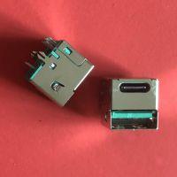 车载充电TYPE-C接口/双层3.1type-c立式+usb母座/A母180度插板式