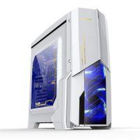 台式机主机机箱 发光机箱3.0家用游戏办公大机箱 电脑机箱批发
