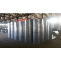 中信加工镀锌螺旋风管 有花优质镀锌板材 环保除尘通用管道