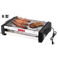 LKS韩式铁板电烧烤炉 家用烤架炉 不锈钢电烤炉 B型电烤炉 无烟型