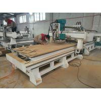 供应HC-1325双工位排钻加工中心 全屋定制板式家具生产线