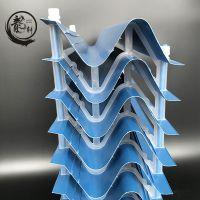 PVC冷却塔收水器S型冷却塔收水器S型PVC蓝色挡水板——龙轩环保
