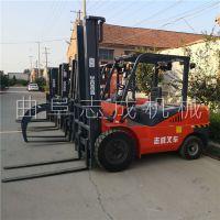 专业生产乘坐式小型叉车 移动式运输物流搬运车 码头搬运多用途液压叉车志成