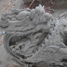 惠安青石石柱子厂家 寺庙龙柱 专业雕刻