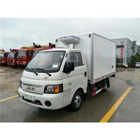 江淮康玲X3.1米冷藏车 1.3L排量小型后双胎冷藏车厂家
