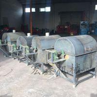 大型炒瓜子机 供应全自动炒货机 电加热滚筒式炒货机