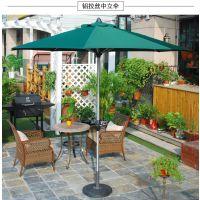 四川省铝中柱伞 休闲桌椅遮阳伞 手摇中柱伞图片、价格 加厚涤纶布