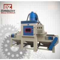 佛山喷砂机供应平板类全自动通过式皮带输送式喷砂机
