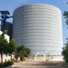 大型粉煤灰储存罐-山东正阳钢板仓建设