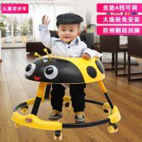 婴儿幼儿儿童学步车67-18个月宝宝多功能可折叠带音乐灯光防侧翻