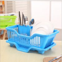 日式收纳碟架滴水碗架厨房小工具沥水碗架塑料厨具架厨房置物架