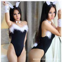 舞台装制服兔子服装兔女郎ds领舞演出服万圣节圣诞套装学生表演服