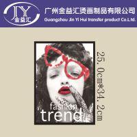 广州中大新款热销爆款图案 个性diy韩国风服装热转印热升华