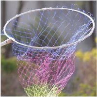 直径40、50、60厘米不锈钢抄网头 三折 带网兜8毫米接口