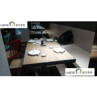 上海韩尔复古品牌 定制餐厅桌子,西餐厅家具定制,饭店椅,木桌椅