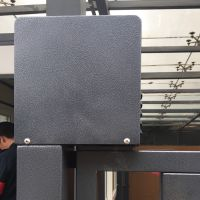 广安蓬远科技自动开门机电动闭门器小区人行通道广告门电机无拉臂全国招代理加盟