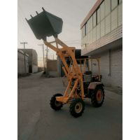 建筑工程驾驶室装载机 前卸式小铲车 农场养殖场
