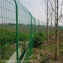 厂家衡阳市铁丝网围栏 公路护栏网 绿色铁网围栏质量决定优盾问答