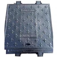 【厂家直销】500*500mm-B125球墨铸铁井盖 园林 市政 道路 小区 方形井盖
