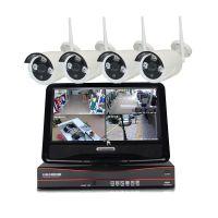 即插即用4/8路无线监控设备套装 wifi网络摄像头130万高清摄像头