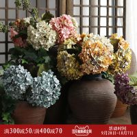 克里斯多大仿真花客厅复古绣球花婚庆假花花艺装饰花