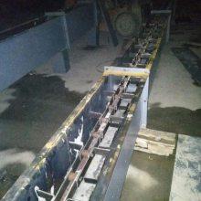 MS刮板输送机专业生产 重物输送链板输送机