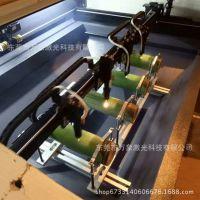 供应江西福建湖南竹筒酒激光加工设备 四头竹筒酒激光雕刻机厂家