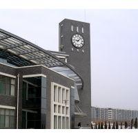 专业定制校园文化钟楼大钟 建筑塔钟 户外时钟 楼顶大本钟