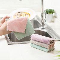 2667 吸水洗碗布加厚擦桌布毛巾厨房不沾油不掉毛清洁抹布擦手巾