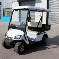 厂家直销AS-002 2人座充电8-10小时高尔夫球车电动巡逻车带实心斗