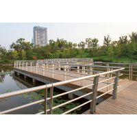 专业厂家看图定制不锈钢成品河道栈道栏杆 工艺美观 安装方便