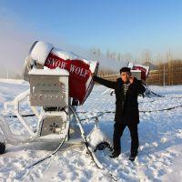房地产做活动打造美丽雪景造雪机价格