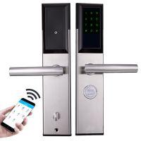 智能密码锁 出租房公寓酒店宾馆智能指纹锁 远程APP 民宿日短租房大门锁