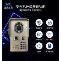 广州威庭电器有限公司 可视门铃,可视对讲门铃,980网线楼宇对讲 ,指纹刷卡