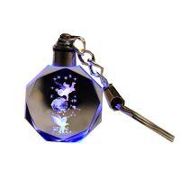 JSH杨洋许嵩薛之谦小挂饰水晶发光钥匙扣生日礼物个性定制挂件