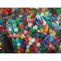 绒球,毛绒球,DIY绒球,彩色毛绒球