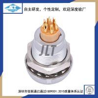 M9-2芯内外固定插座 JLT-CHSR9-2芯焊线座