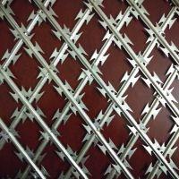 国帆刺网厂家定做刀片防护网 热镀锌刀刺网